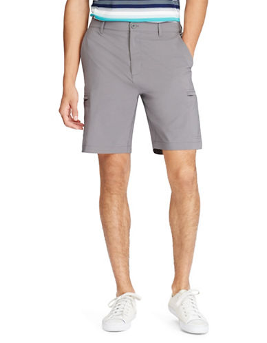 Chaps Big and Tall Performance Cargo Shorts-GREY-50 Big