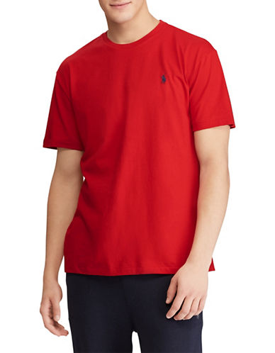 Polo Ralph Lauren Custom Slim-Fit Cotton T-Shirt-RED-Small 89820927_RED_Small