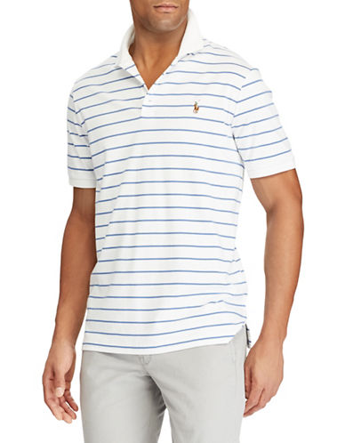 Polo Ralph Lauren Classic-Fit Soft-Touch Cotton Polo-WHITE-Large