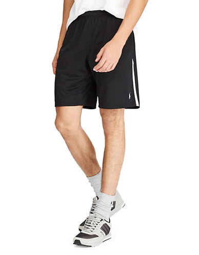 Polo Ralph Lauren Thermo Vent Athletic Shorts-BLACK-Small 89952831_BLACK_Small