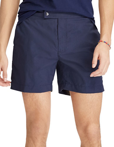 Polo Ralph Lauren Monaco Swim Trunk-NAVY-38