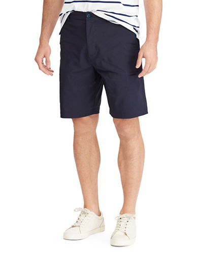 Chaps Big and Tall Performance Cargo Shorts-BLUE-50 Big