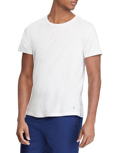Polo Ralph Lauren Crew Neck Sleep Tee-WHITE-Medium 90024826_WHITE_Medium