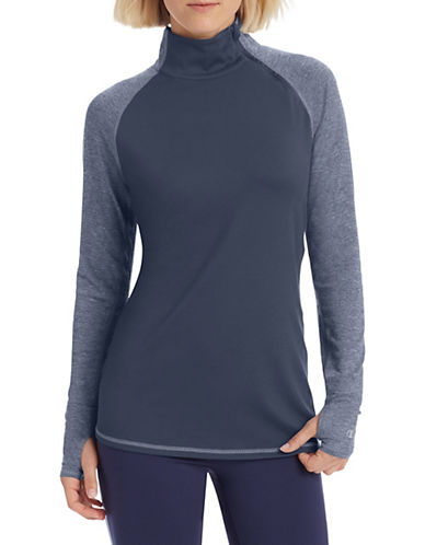 Champion Double Dry Long-Sleeve Top-BLUE-X-Small 90026595_BLUE_X-Small