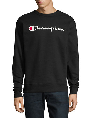 Champion Fleece Graphic Sweatshirt-BLACK-Medium 90025830_BLACK_Medium