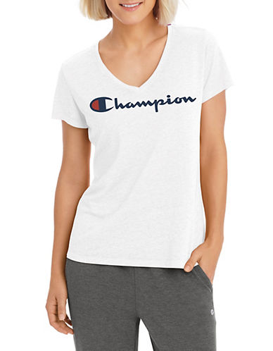 Champion Authentic Graphic Tee-WHITE-Large 90026512_WHITE_Large