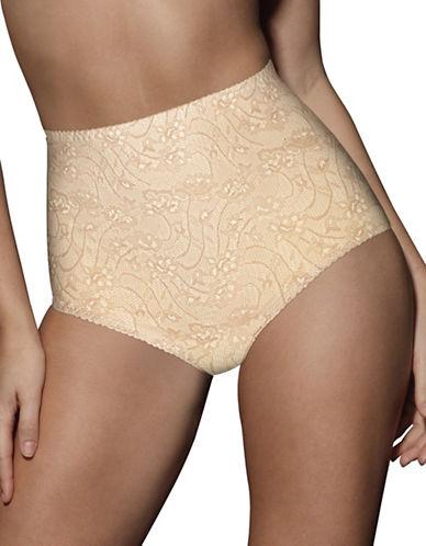 Bali Two-Pack Control Tummy Briefs-NUDE-Medium