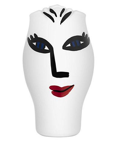Kosta Boda Open Minds Vase-WHITE-Medium