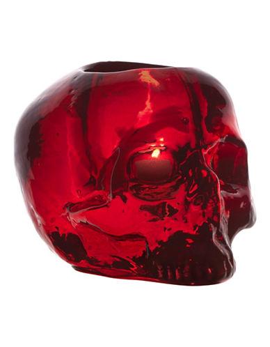 Kosta Boda Still Life Crystal Votive-RED-One Size