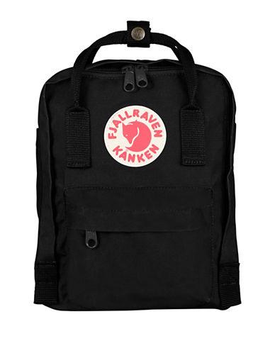 Fjallraven Kanken Mini Backpack-BLACK-One Size
