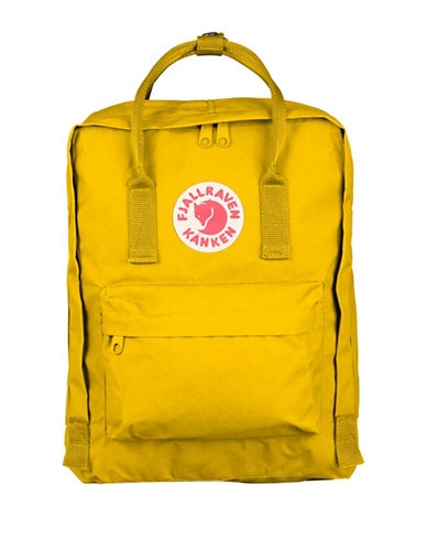 Fjallraven Kanken Backpack-YELLOW-One Size