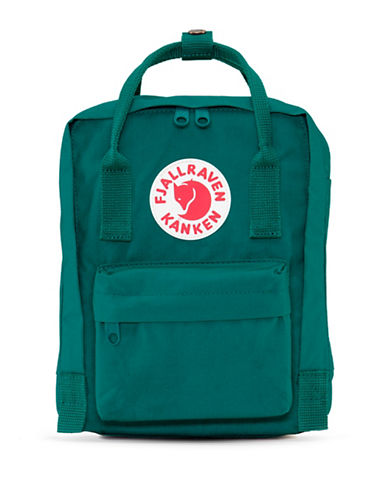 Fjallraven Kanken Mini Backpack-GREEN-One Size