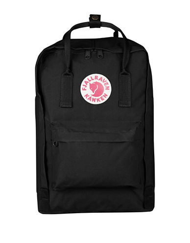 Fjallraven Kanken Solid Backpack-BLACK-One Size