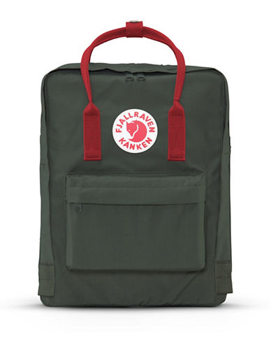 Fjallraven Kanken Logo Backpack-FOREST-One Size