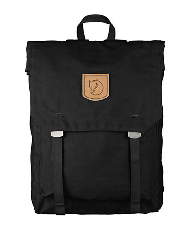 Fjallraven Foldsack No. 1 Backpack-BLACK-One Size