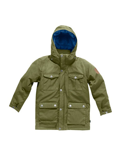 Fjallraven Greenland Down Parka-GREEN-12-13