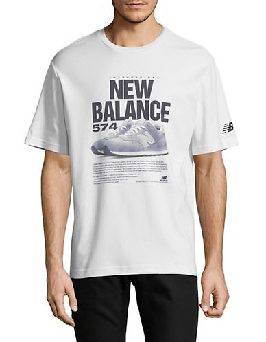 New Balance 574 Archive Cotton T-Shirt-WHITE-X-Large 89964899_WHITE_X-Large