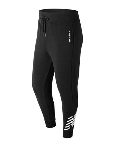 New Balance Essentials Drawstring Sweatpants-BLACK-Large 89964808_BLACK_Large