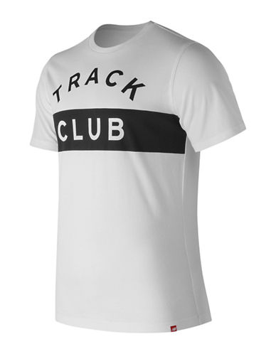 New Balance Track Club Cotton Tee-WHITE-Large 89964876_WHITE_Large