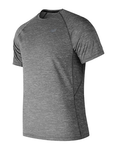 New Balance Short-Sleeve Tee-CHARCOAL GREY-Small 89964865_CHARCOAL GREY_Small