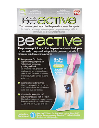 As Seen On Tv Beactive Pressure Point Wrap-NO COLOUR-One Size