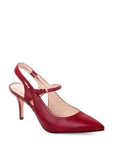 Nine West Kookie Mary-Jane Pumps-RED-9.5