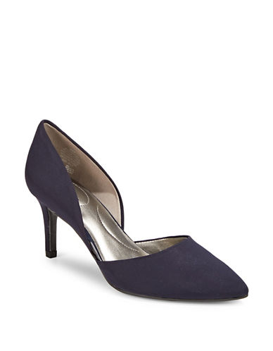 Bandolino Classic Slip-On Pumps-NAVY-6