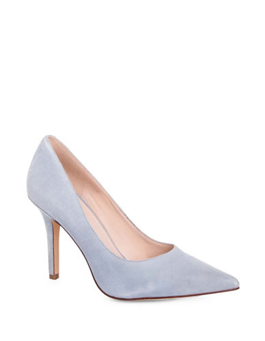 Nine West Jackpot Pointed Toe Pumps-LIGHT BLUE-7.5