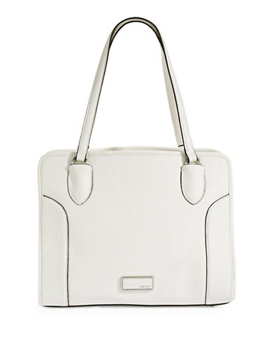Nine West Suit Reboot Carryall Bag-WHITE-One Size