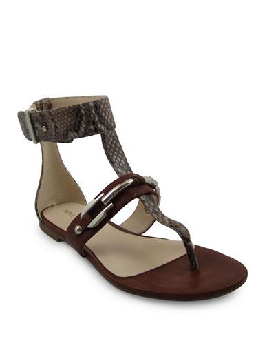 Nine West Sheenagh Sandals-NATURAL-6