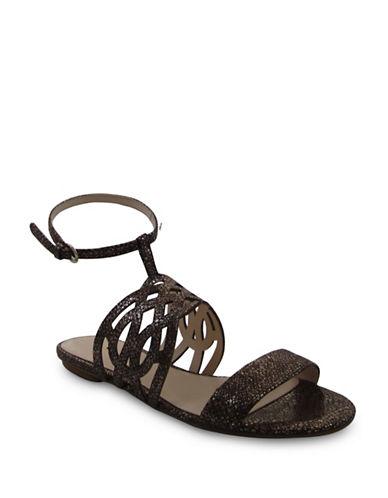 Nine West Jumprope Sandals-BRONZE-7