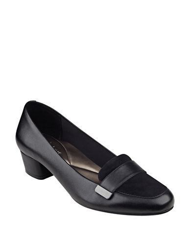 Easy Spirit Urlana Dress Loafers-BLACK-11 88635936_BLACK_11