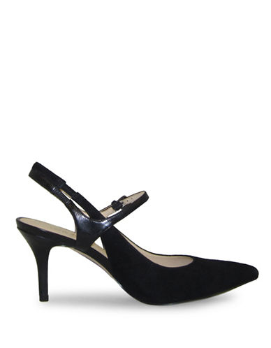 Nine West Kookie Mary-Jane Pumps-BLACK-9.5