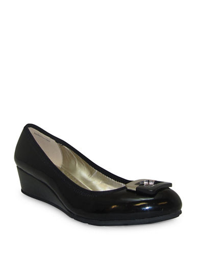 Bandolino Wedge Slip-On Shoes-BLACK-10