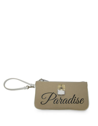 Nine West Table Treasure Wristlet-CAMEL-One Size