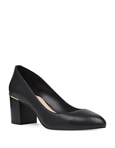 Nine West Astor Pumps-BLACK-6