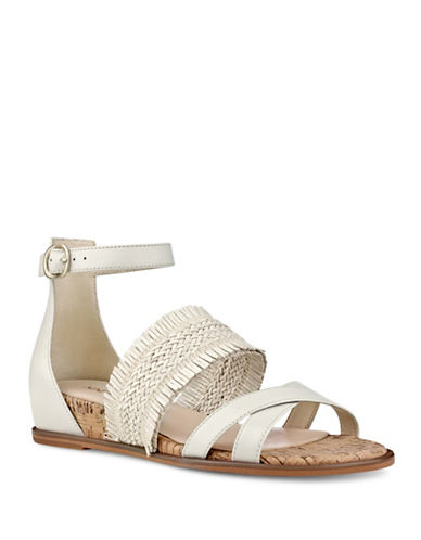 Nine West Vernell Open-Toe Sandals-WHITE-7.5