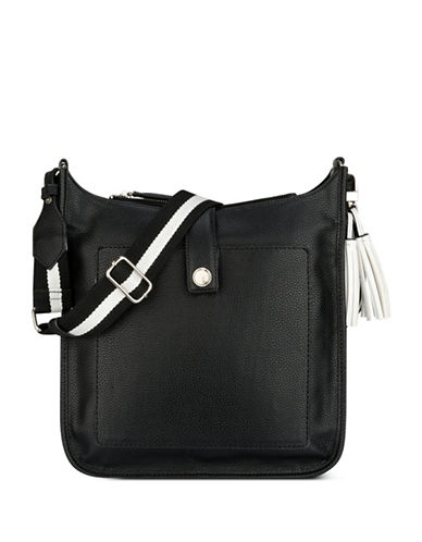 Nine West Aspen Crossbody Bag-BLACK-One Size