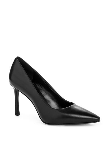 Nine West Emmala Mid-Heel Pumps-BLACK-5.5