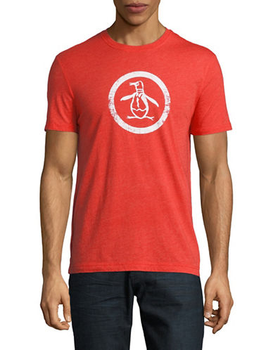Original Penguin Graphic T-Shirt-RED-Medium 89852148_RED_Medium