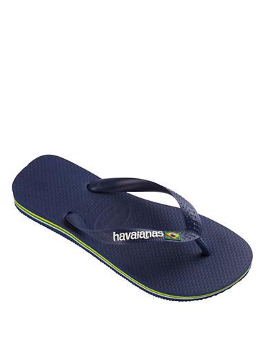 Havaianas Brazilian Flag Flip Flop Sandals-NAVY-EU 43/US 10