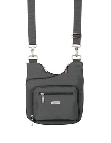 Baggallini Criss Cross Bagg-GREY-One Size