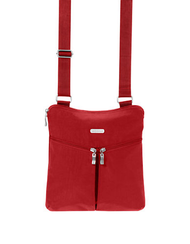 Baggallini Horizon Crossbody Bagg-RED-One Size
