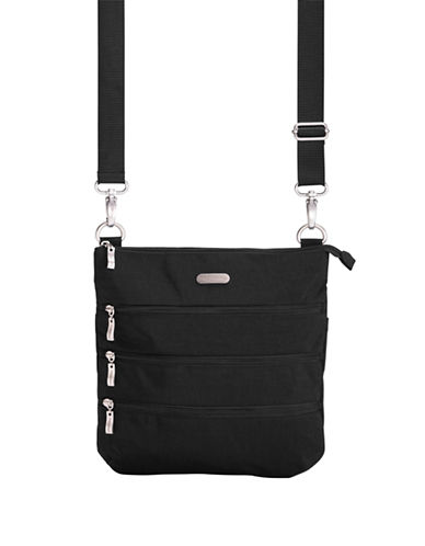 Baggallini Big Zipper Bagg-BLACK-One Size
