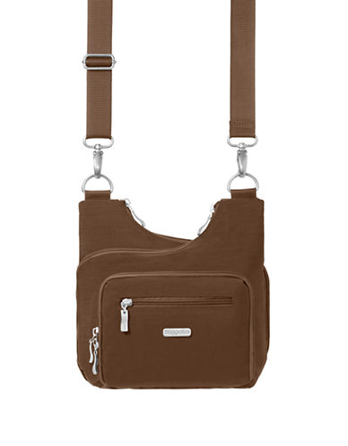 Baggallini Criss Cross Bagg-BROWN-One Size