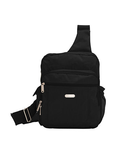 Baggallini Messenger Bagg-BLACK-One Size