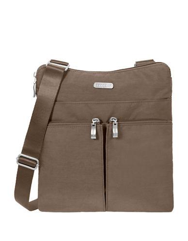 Baggallini Horizon Crossbody Bag-BROWN-One Size