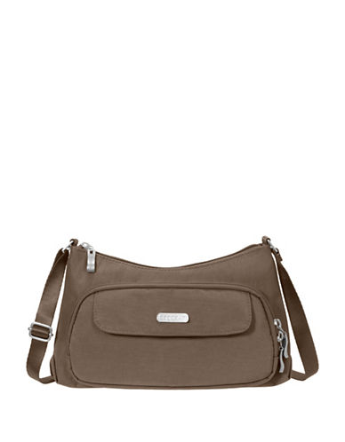 Baggallini Everyday Water-Resistant Crossbody Bag-BROWN-One Size