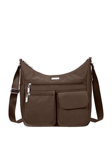 Baggallini Everywhere Crossbody Bag-BROWN-One Size