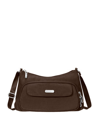 Baggallini Everyday Water-Resistant Crossbody Bag-DARK BROWN-One Size